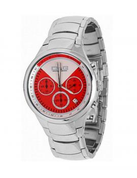 Orologio D&G Dolce&Gabbana mod. JOCELIN ref. DW0426 Uomo acciaio crono q. rosso