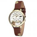 Orologio MINI WATCH 3D ref. MNS1039A Donna in pelle marrone lucido