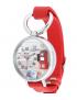 Orologio MINI WATCH 3D ref. MN976B Donna in pelle bianco