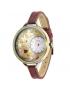 Orologio MINI WATCH 3D ref. MN919 Donna in pelle marrone