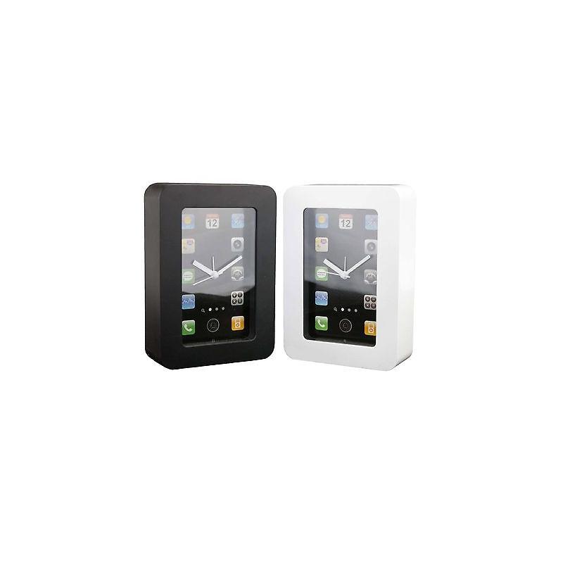 Sveglia da tavolo mod iphone in resina colorata bianco o nero ebay - Tavolo zed riflessi costo ...